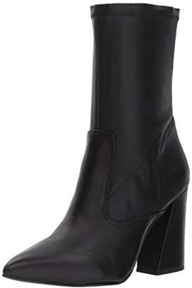 Kenneth Cole New York Women's Galla Pointed Toe Bootie with Fla Heel Stretch Shaft Ankle Boot