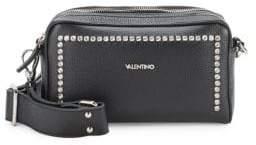 Mario Valentino Mila Rhinestone Leather Crossbody