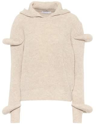 J.W.Anderson Wool and alpaca hoodie