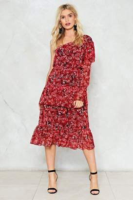Nasty Gal One Day At a Time Floral Dress