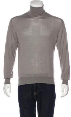 Gucci Cashmere & Silk Turtleneck Sweater