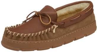 Slippers International 8018A Men's Deerskin Moccasin Slipper