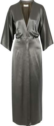 Mason by Michelle Mason Silk-charmeuse Maxi Dress
