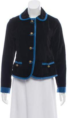 Marc by Marc Jacobs Lightweight Velvet Jacket w/ Tags