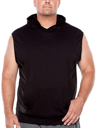 Co THE FOUNDRY SUPPLY The Foundry Big & Tall Supply Sleeveless Fleece Hoodie-Big and Tall
