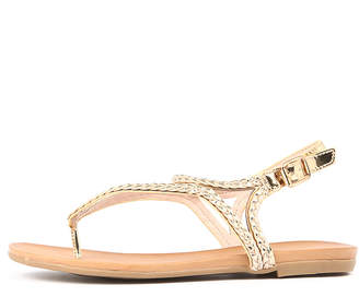 Ko fashion Kalisey Soft gold Sandals Womens Shoes Casual Sandals-flat Sandals