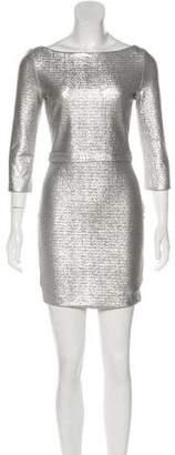 DSQUARED2 Metallic Mini Dress