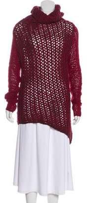 Helmut Lang Wool-Blend Knit Sweater