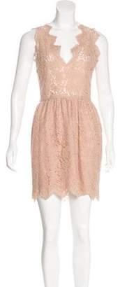Stella McCartney Lace Sheath Dress Pink Lace Sheath Dress