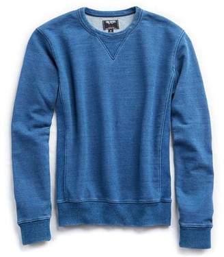 Todd Snyder Bleached Indigo Crew Sweatshirt