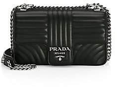 Prada Women's Medium Diagramme Leather Shoulder Bag