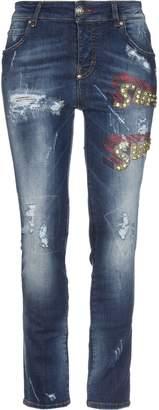 Philipp Plein Denim pants - Item 42738940IU