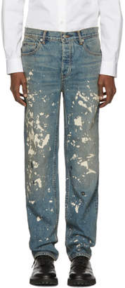 Helmut Lang Blue Re-Edition Painter Jeans