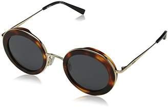 Max Mara Women's Mm Eileen Oval Sunglasses