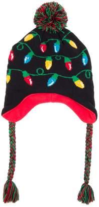 Wembley Holiday Light-Up Knit Peruvian Hat