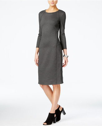 Armani Exchange Seam-Detail Sheath Dress $120 thestylecure.com