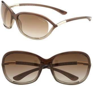 8392e0d375c ... Tom Ford  Jennifer  61mm Oval Oversize Frame Sunglasses