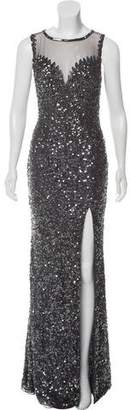 Jovani Sequined Evening Gown