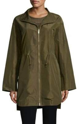 Lafayette 148 New York Nicolina Empirical Tech Cloth Jacket
