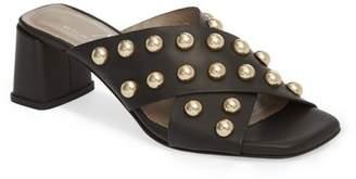 Attilio Giusti Leombruni Studded Slide Sandal (Women)