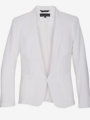Rag & Bone Exclusive Sliver Tuxedo Blazer: White