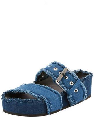 Rag & Bone Evin Denim Platform Sandal