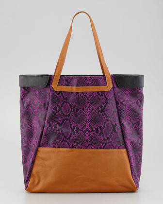 Be & D Nixie Tote Bag, Purple