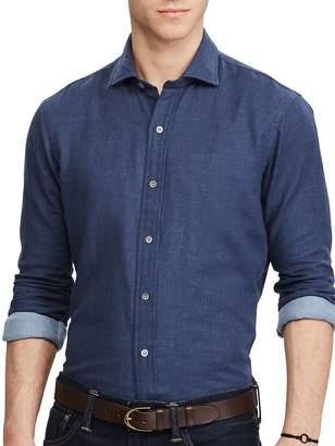 Ralph Lauren Men's Double-Faced Cotton Button-Down Shirt
