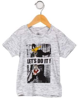 Little Eleven Paris Boys' Graphic Print Shirt w/ Tags