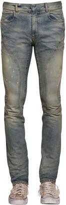 Faith Connexion 16cm Skinny Sprayed Biker Denim Jeans