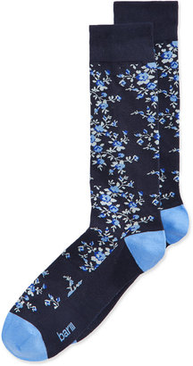 Bar III Men's Seamless Toe Patterned Floral Dress Socks, Only at Macy's $10 thestylecure.com