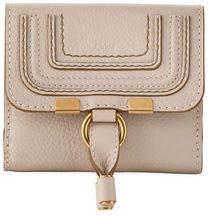 Chloé Marcie Leather Bi-Fold Wallet