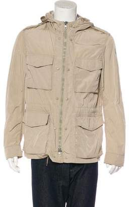Moncler Roy Hooded Field Jacket
