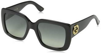 Gucci GG0141S 001 GG0141S Square Sunglasses Lens Category 2