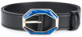 Etro resin buckle belt
