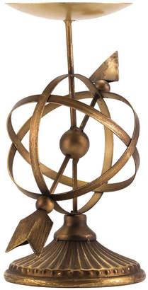 ZUO Mundo Candle Holder Sm Antique Brass