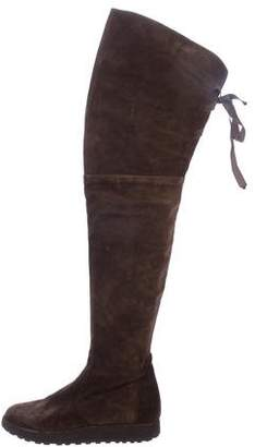 Castaner Suede Over-The-Knee Boots