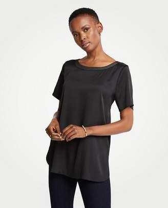 Ann Taylor Shirttail Top