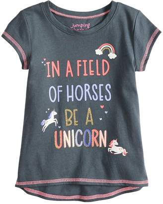Toddler Girl Jumping Beans Unicorn Graphic Tee