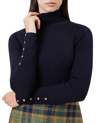 Hobbs London Lara Merino-Wool Turtleneck