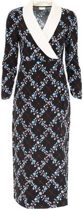 Rixo Dress With Collar