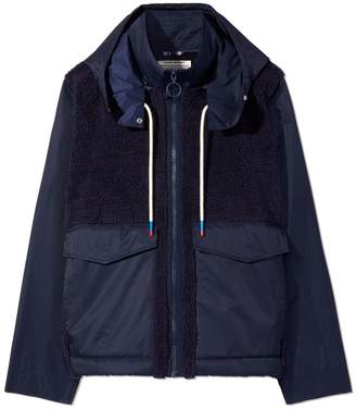 Tory Sport SHERPA FLEECE HOODED FIELD JACKET