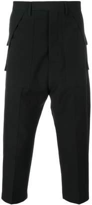 Rick Owens tailor style drop crotch cargo pants