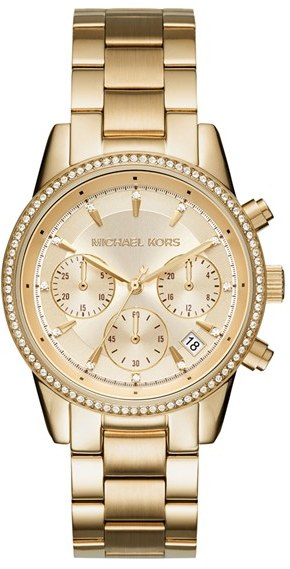 MICHAEL Michael Kors Women's Michael Kors Ritz Chronograph Bracelet Watch, 37Mm