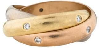 Cartier Diamond Trinity Ring yellow Diamond Trinity Ring