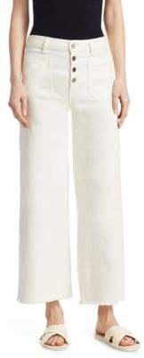 Elizabeth and James Carmine Wide Leg Ankle Jeans
