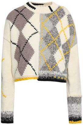 Pringle Intarsia Wool-blend Sweater