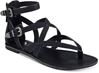 G by GUESS Hearn Caged Sandals $39 thestylecure.com