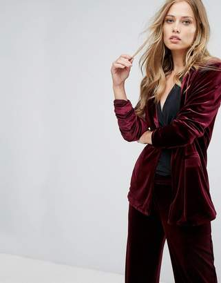 Vero Moda Tailored Velvet Blazer
