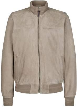 Hackett Suede Blouson Jacket